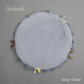 ルイスドッグ【louisdog】Anywhere Fur Rug/Grand-Grey Violet