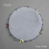 ルイスドッグ【louisdog】Anywhere Fur Rug/Petit-Grey Violet