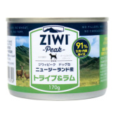 【ZiwiPeak】ジウィピーク ドッグ缶 トライプ&ラム 170g
