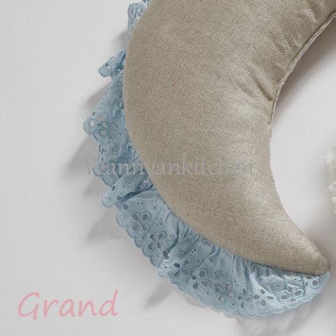 ルイスドッグ【louisdog】Summer Moon Pillow/Natural Linen Grand