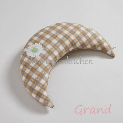 ルイスドッグ【louisdog】Summer Moon Pillow/Yellow Check Grand
