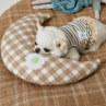 ルイスドッグ【louisdog】Summer Moon Pillow/Yellow Check Petit