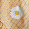 ルイスドッグ【louisdog】Summer Blanket/Orange Stripes Linen