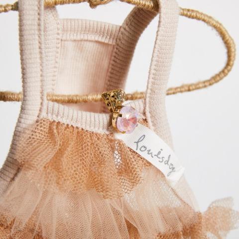 ルイスドッグ【louisdog】Cotton Mesh Mini Dress