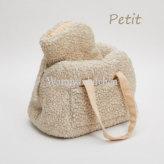 ルイスドッグ【louisdog】Flat White Around Bag Cappuccino Fur Petit