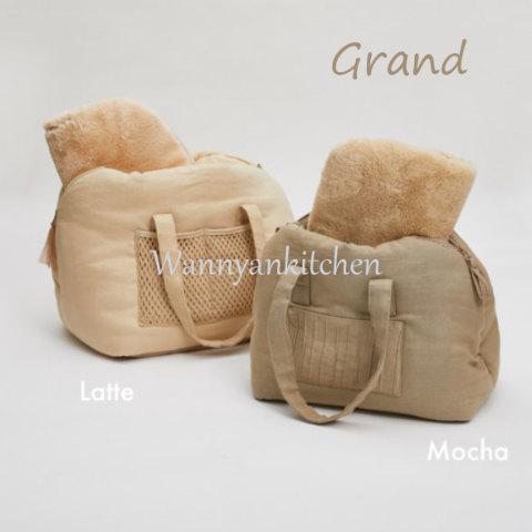 ルイスドッグ【louisdog】Flat White Around Bag Mocha/Latte Grand