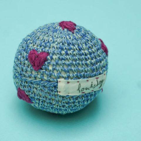 ルイスドッグ【louisdog】Cotton Ball/Melange Blue