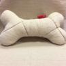 【appy dog】オーガニックコットン シール織りウィンドペン柄 おもちゃ(まくら) ボーンS