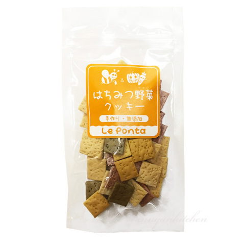 ルポンタ【Le Ponta】 はちみつ野菜クッキー ミックス 60g