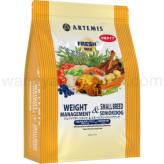 アーテミス ウェイトマネージメント&スモールシニアドッグ 1kg