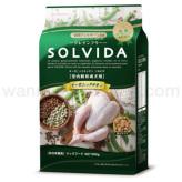 【SOLVIDA】ソルビダ グレインフリー チキン 室内飼育成犬用 900g