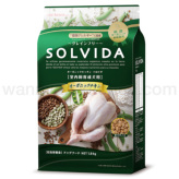 【SOLVIDA】ソルビダ グレインフリー チキン 室内飼育成犬用 1.8kg